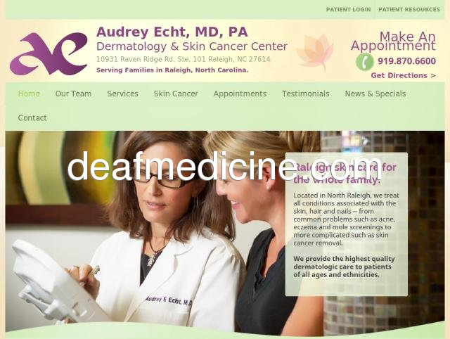 Contact AE Dermatology in Raleigh, NC